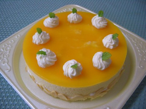 ムースケーキ♪