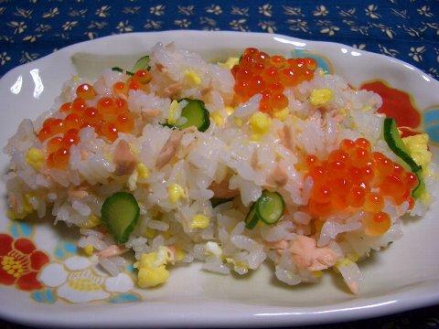 鮭のまぜ寿司♪