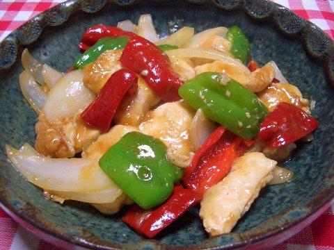 鶏肉の中華炒め♪