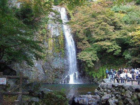 箕面の滝(1)