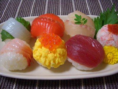 手まり寿司♪