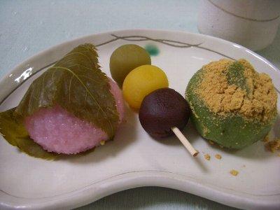 和菓子でほっこり(*'ー'*)
