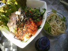 めんたい&サーモン丼