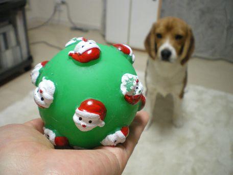 サンタさんボール♪