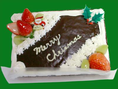 クリスマスケーキの予約承ります101201b