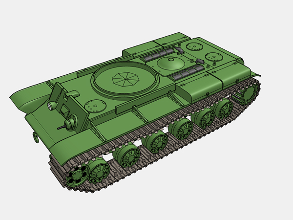 KV-1A履帯