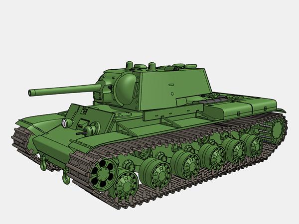 KV-1A完成