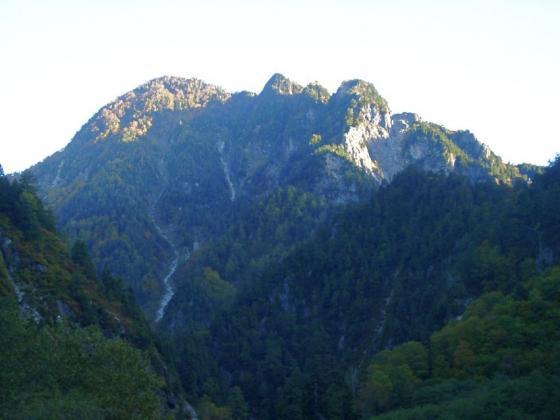 別山南峰と大タテガビン