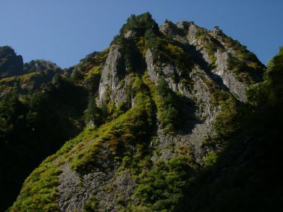 カッコいい岩峰
