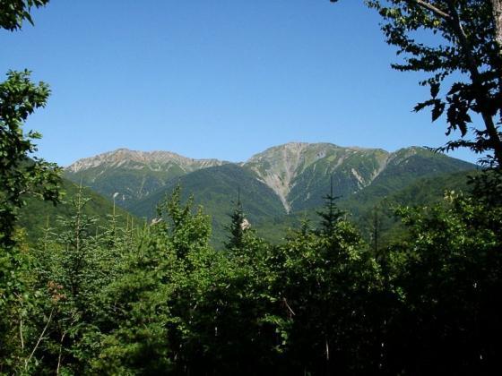 092001中岳と悪沢岳