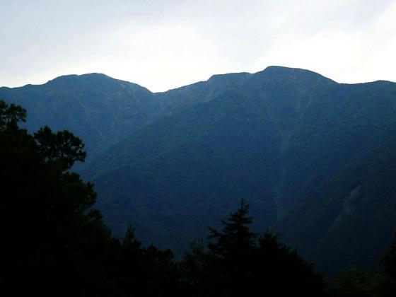 091903上河内岳と南岳 鳥森山にて