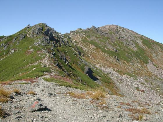 092111悪沢岳への道