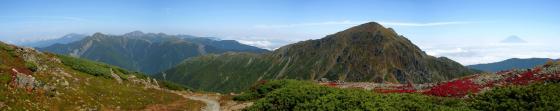 092121中岳にて、北~東方面