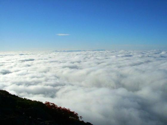 092130小赤石途中にて西の雲海
