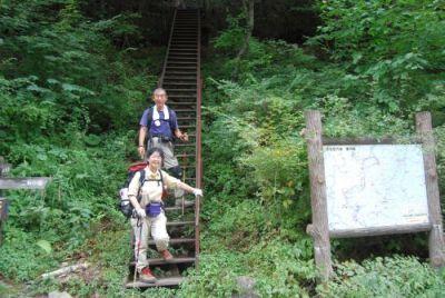 092202赤石登山口