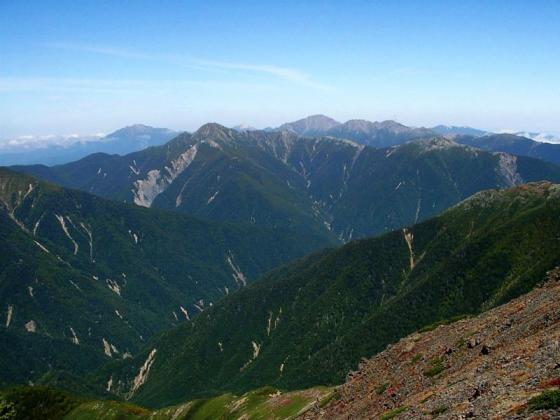 092122中岳にて北方面
