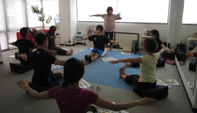 20110724Pilates x Flexcushion02