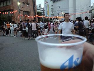 地元のお祭り(ビア)
