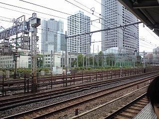 田町駅ホーム(その1)
