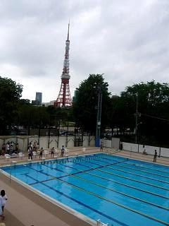 水泳大会(プール1)