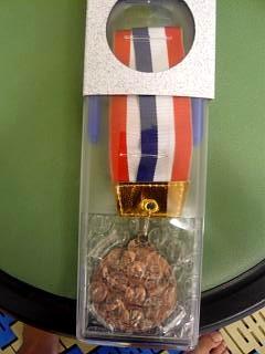 水泳大会(銅メダル)