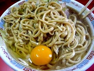 ラーメン二郎三田本店(小豚玉子)