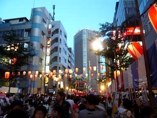 地元のお祭り(風景1)