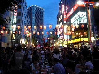 地元のお祭り(風景2)