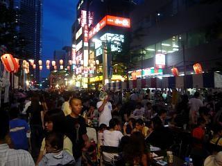 地元のお祭り(風景3)
