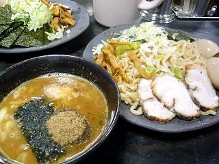 つけ麺渕(つけ麺大盛り全体)