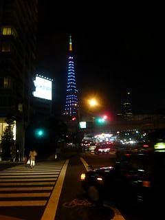 東京タワー夜景(その1)