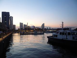 横浜大桟橋(風景夕暮れその3)