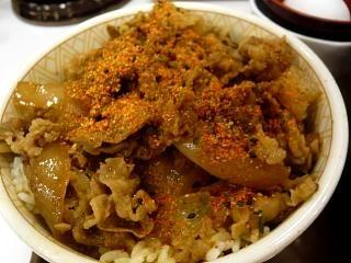 すき家(牛丼UP)