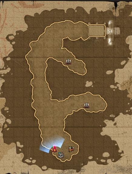 阿里山巫女の帰還マップ