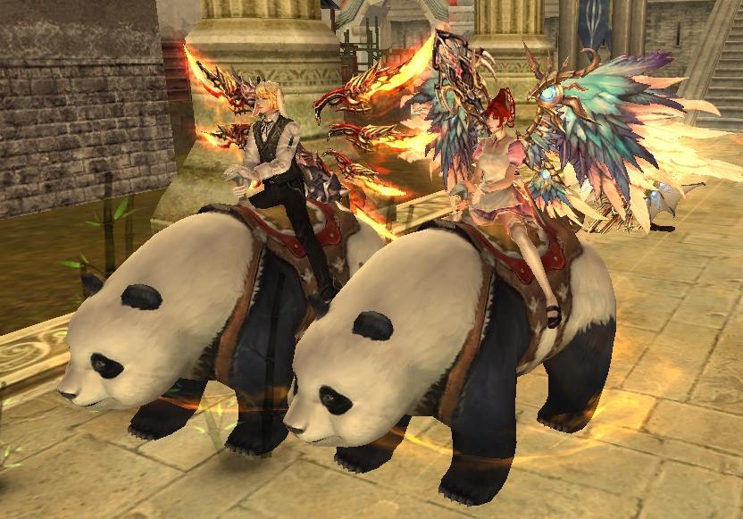 パンダ2匹