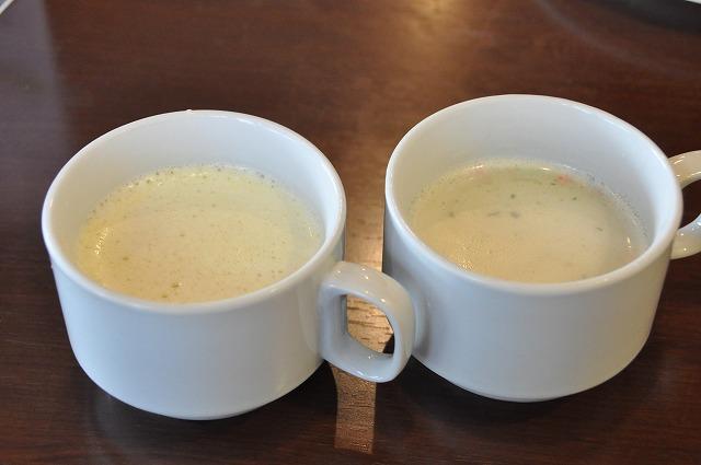 DSC_1869 コーンスープとクリームチャウダー