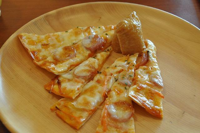DSC_1644 稲荷寿司、ひな野特製ピザ