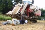 稲藁詰まり