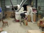 調整(籾摺り)作業
