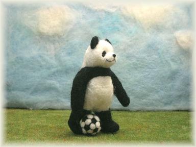 パンダの休日(サッカー)