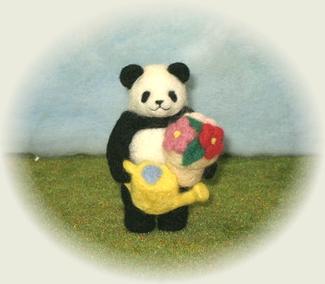 パンダの休日(園芸)
