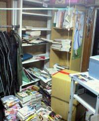 本棚、第三形態に移行中。