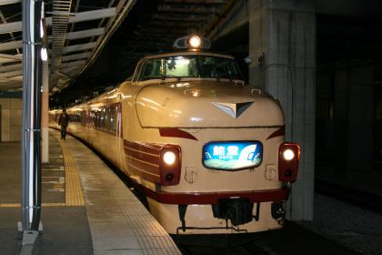 高崎駅の急行「能登」