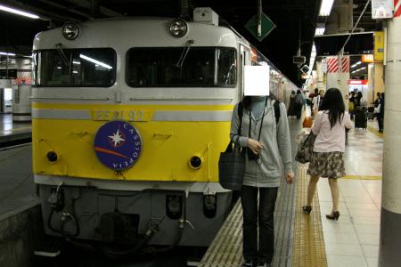 上野に着きました。EF81は92号機