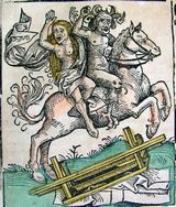 Devil and Woman on Horseback
