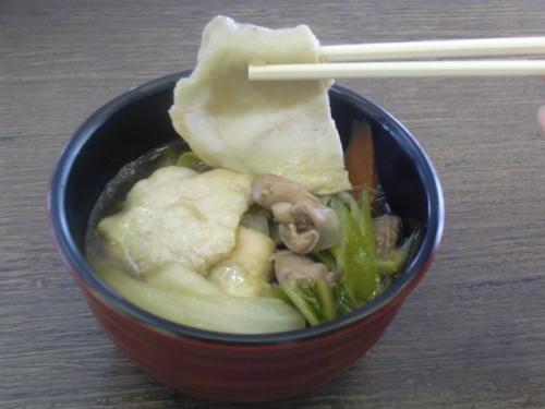PS屋台村2011せんべい汁