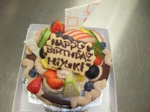 チョコケーキ5