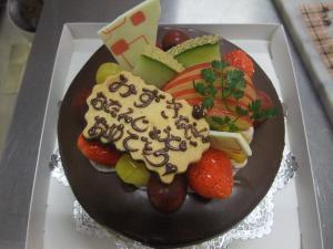 チョコケーキ 12