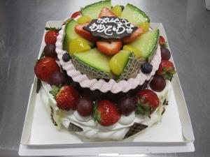 二段ケーキ (2)