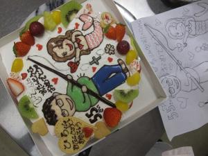 イラストケーキ (2)